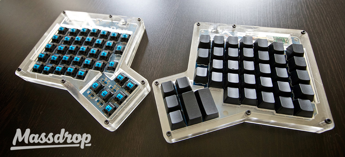 ergodox from massdrop